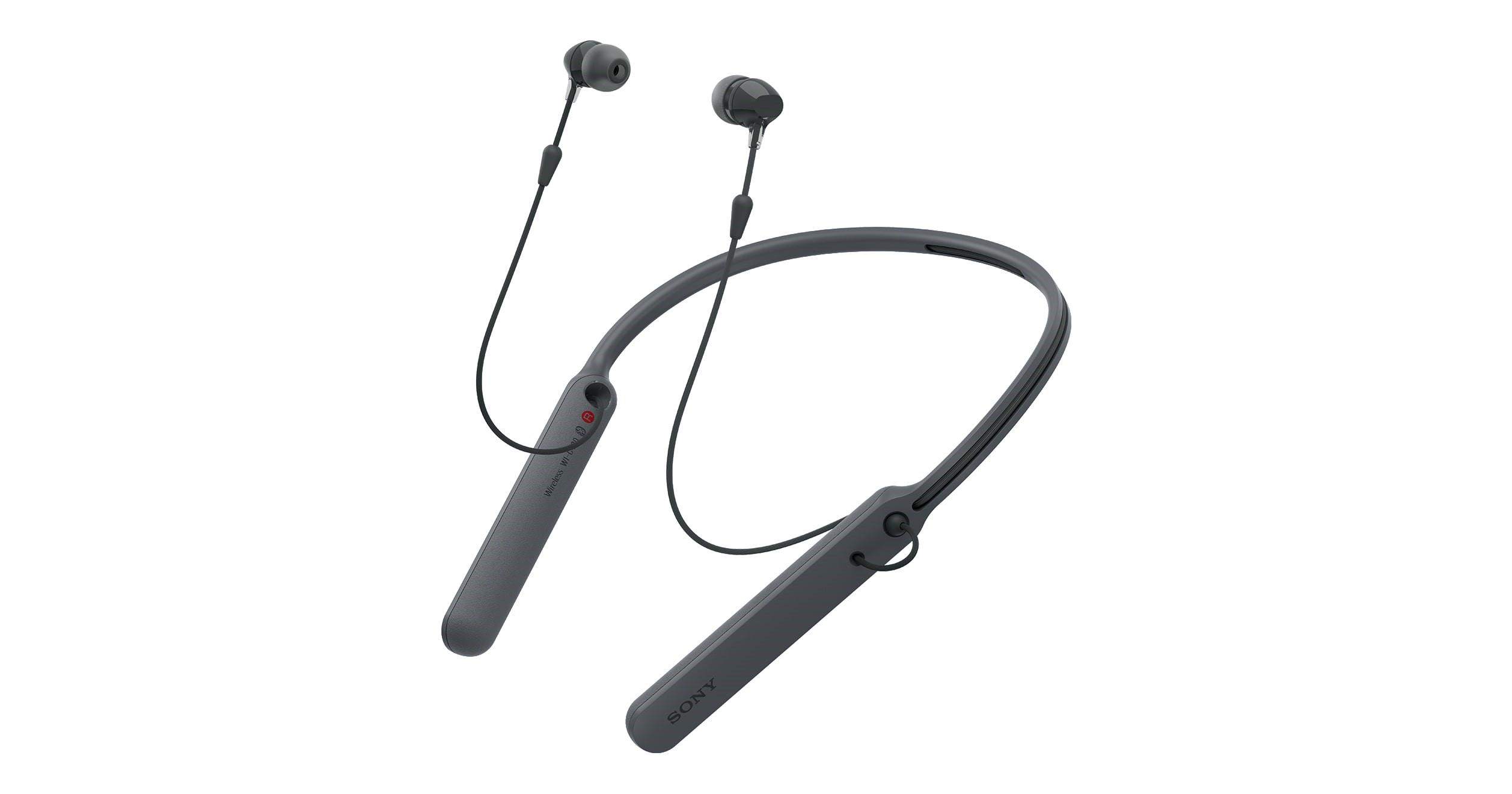 Tai nghe không dây Sony WI-C400 thể thoa gọn nhẹ