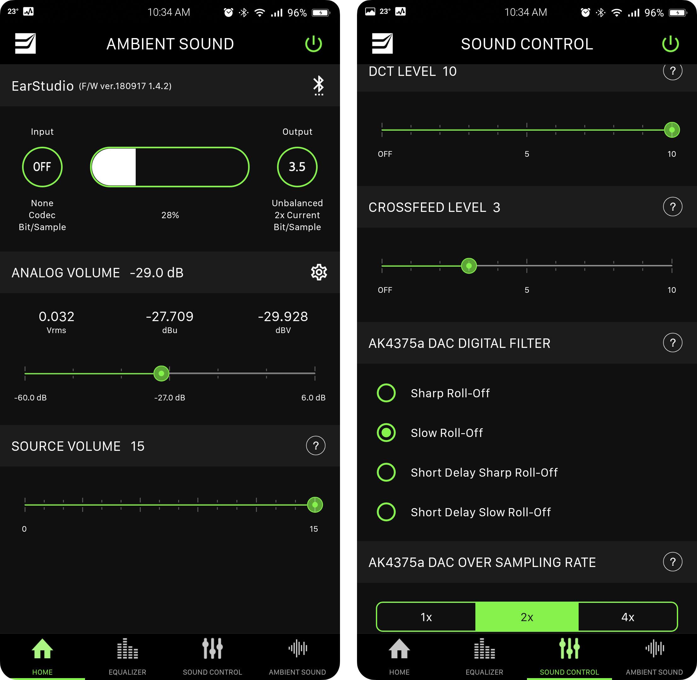 Bluetooth DAC/AMP EarStudio ES100 MK2